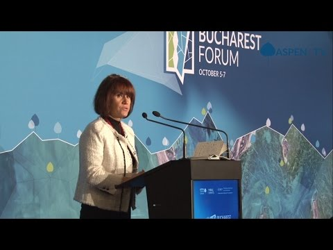 Opening address and kickoff by Alina Inayeh at Bucharest Forum 2016