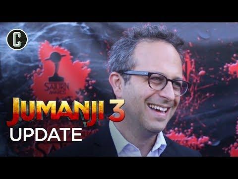 Jumanji 3 Update from Director Jake Kasdan