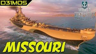 WoWs: Battleship 63  Missouri (Iowa Class)