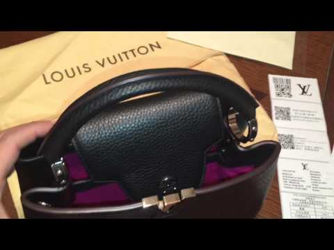 LV Capucines (High End Replica) Unboxing- HD