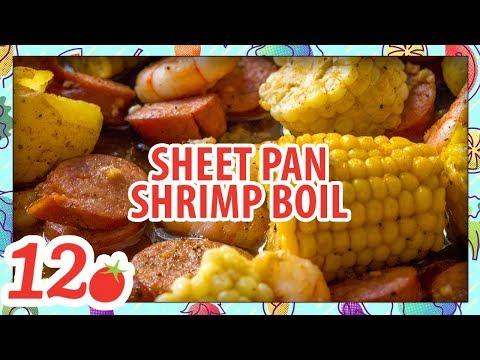 How to make: Sheet Pan Shrimp Boil Recipe