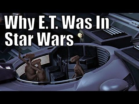 E.T. in Star Wars Explained