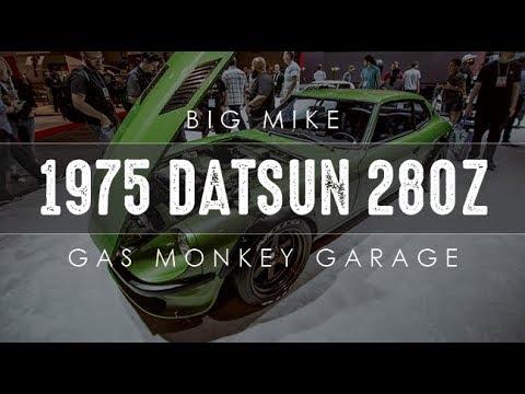 1975 datsun 280z 1st import build by gas monkey garage interview