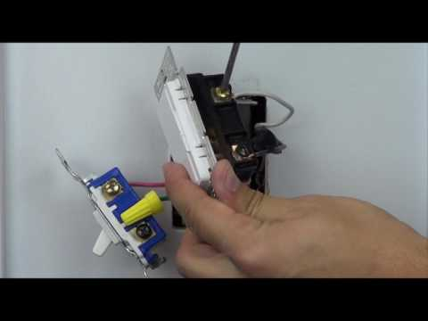 Wiring A Maestro Dimmer In A 3 Way With A Mechanical Switch Youtube