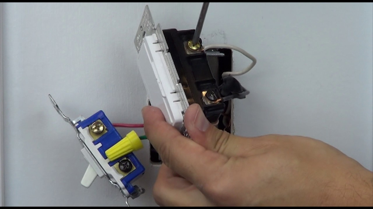 Wiring a Maestro Dimmer in a 3-way (With a Mechanical Switch) - YouTube