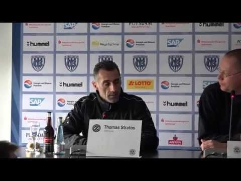SV Babelsberg 03 - BFC Dynamo, Pressekonferenz