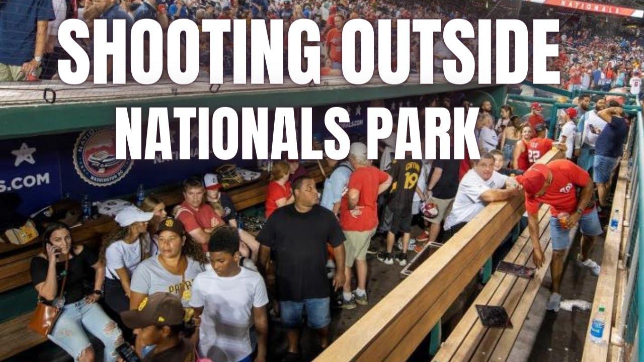 Washington Nationals halt game against Padres after shooting ...
