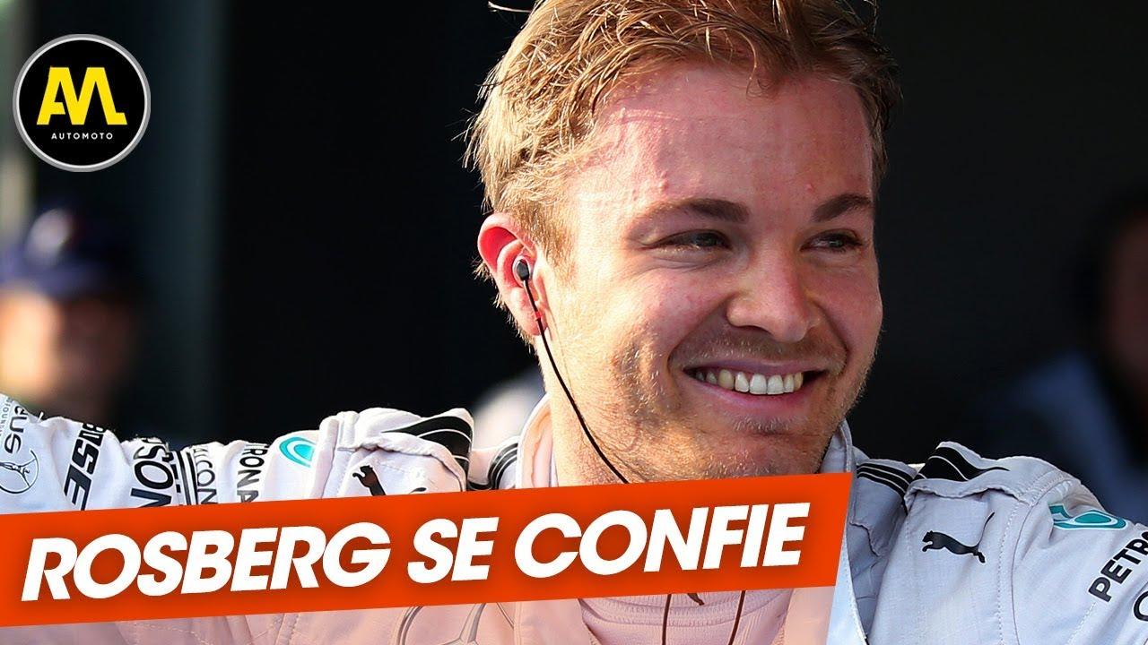 Sa carrière, les pilotes français en F1... Les confessions de Nico Rosberg - Automoto