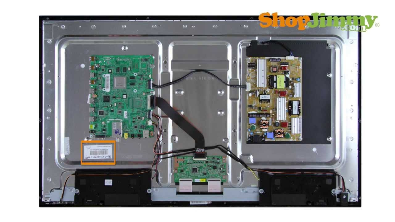 Samsung Lcd Tv Repair Identifying Samsung T Con Board