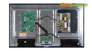 Samsung LCD телевізор ремонт - виявлення Samsung Т-Кон номери деталей - як виправити РК телевізорів Samsung