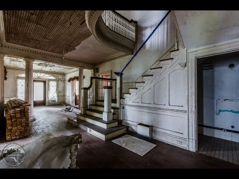 abandoned 1900s neo classical revival house - 1900s Home Design