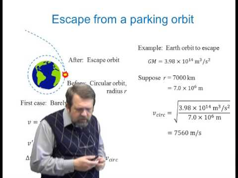 Orbital Maneuvers lecture