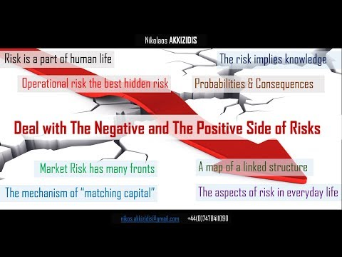 Deal with The Negative & The Positive Side of Risks