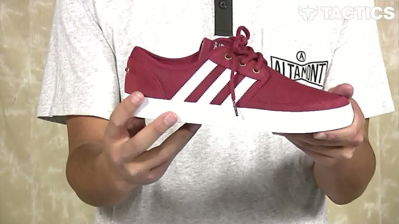 Adidas Seeley Summer Skate Shoes Review - Tactics.com - YouTube 8b8d5c9a7