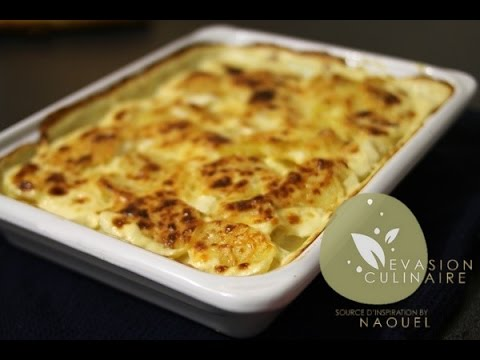 gratin dauphinois le vrai french scalloped potatoes evasion culinaire by naouel youtube. Black Bedroom Furniture Sets. Home Design Ideas