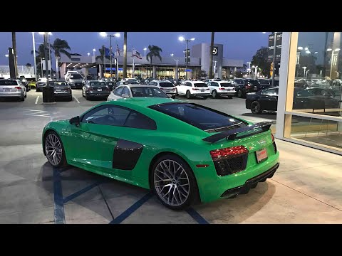 BOUGHT A 1of1 AUDI R8 V10+ 2018! JUST FOR YOUTUBE
