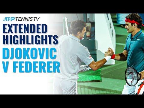 Extended Highlights: Federer overcomes Djokovic in Dubai classic | Dubai 2014 Semi-Final