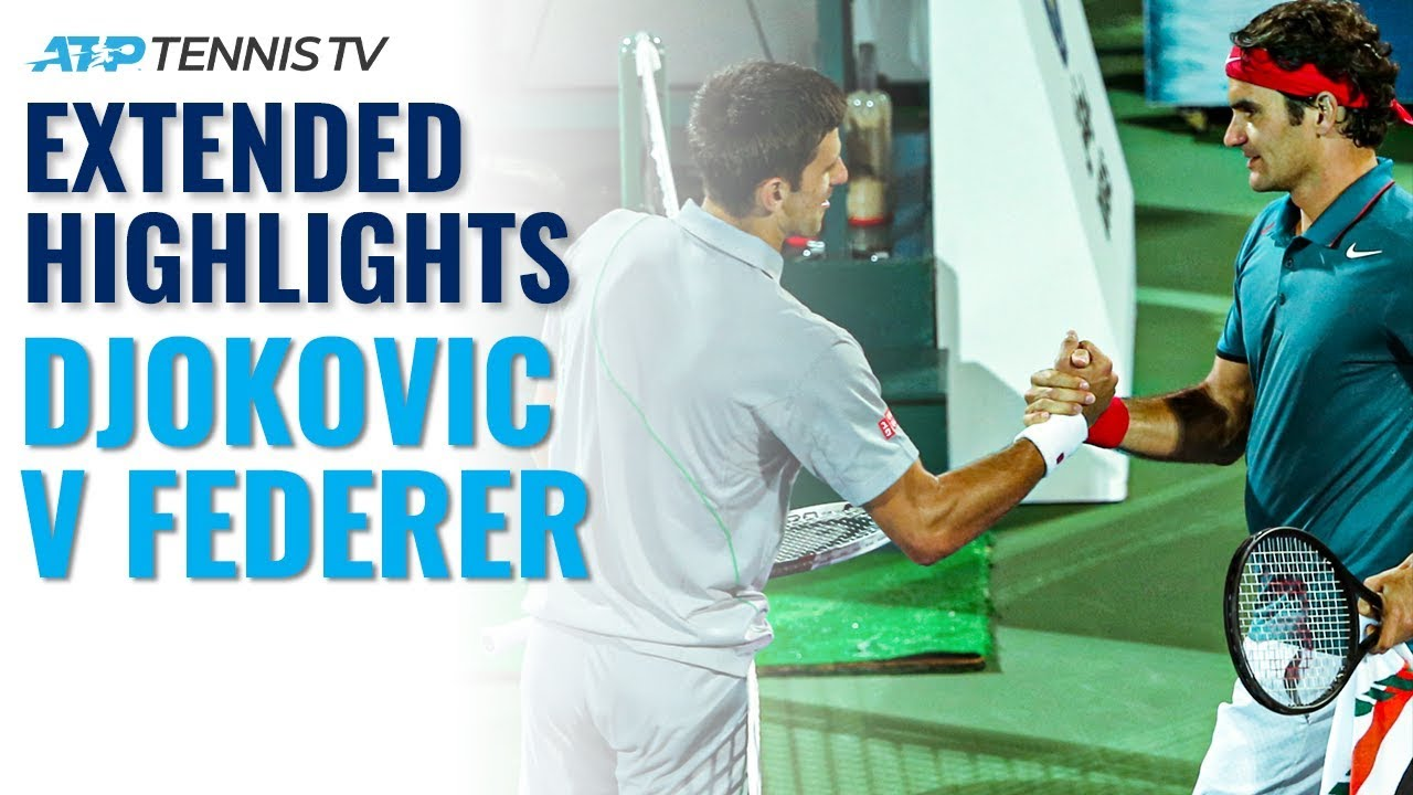 Extended Highlights: Federer Overcomes Djokovic in Dubai Classic | Dubai 2014 Semi-Final