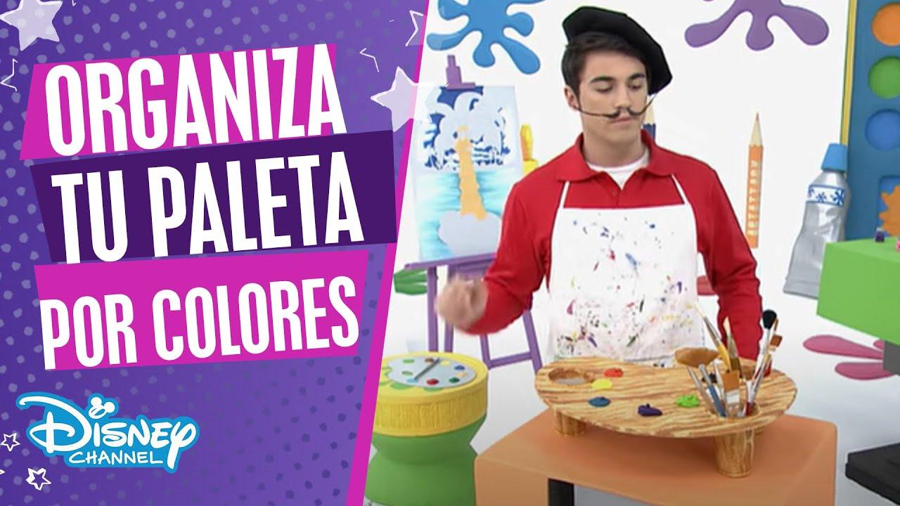 Art Attack: Paleta organizadora   Disney Channel Oficial