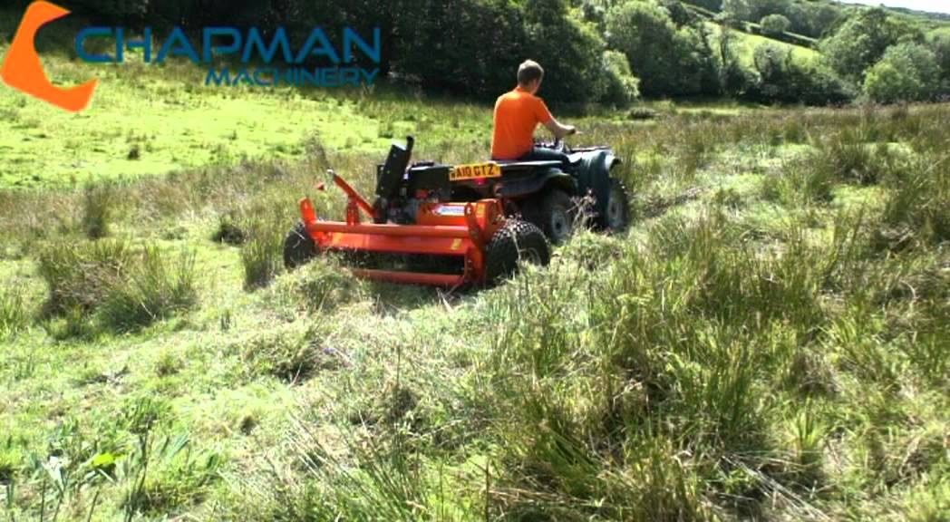 Fm120 Diesel Atv Flail Mower Shredder Chapman Machinery