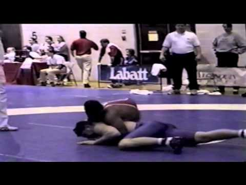 2000 Junior National Championships: 97 kg Unknown vs. Jamie Cox