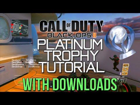 Black Ops 2 Platinum Trophy Tutorial - PS3