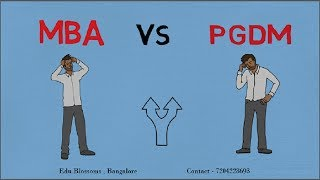 MBA vs PGDM; Did you know these differences??? thumbnail