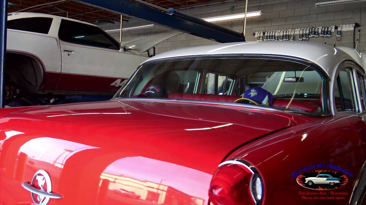 Classic Car Repair Shop Las Vegas Lost in the 50\'s Automotive - YouTube