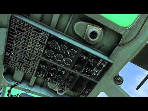 DCS - Prevuelo y arranque helicóptero UH-1H (ESA)