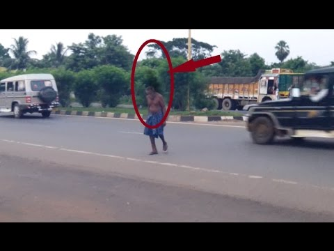 Ghost Freely Roaming at Street   REAL GHOST CAUGHT ON TAPE