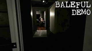 BALEFUL - First Look Demo Gameplay (New Indie Horror Game 2018) THEY