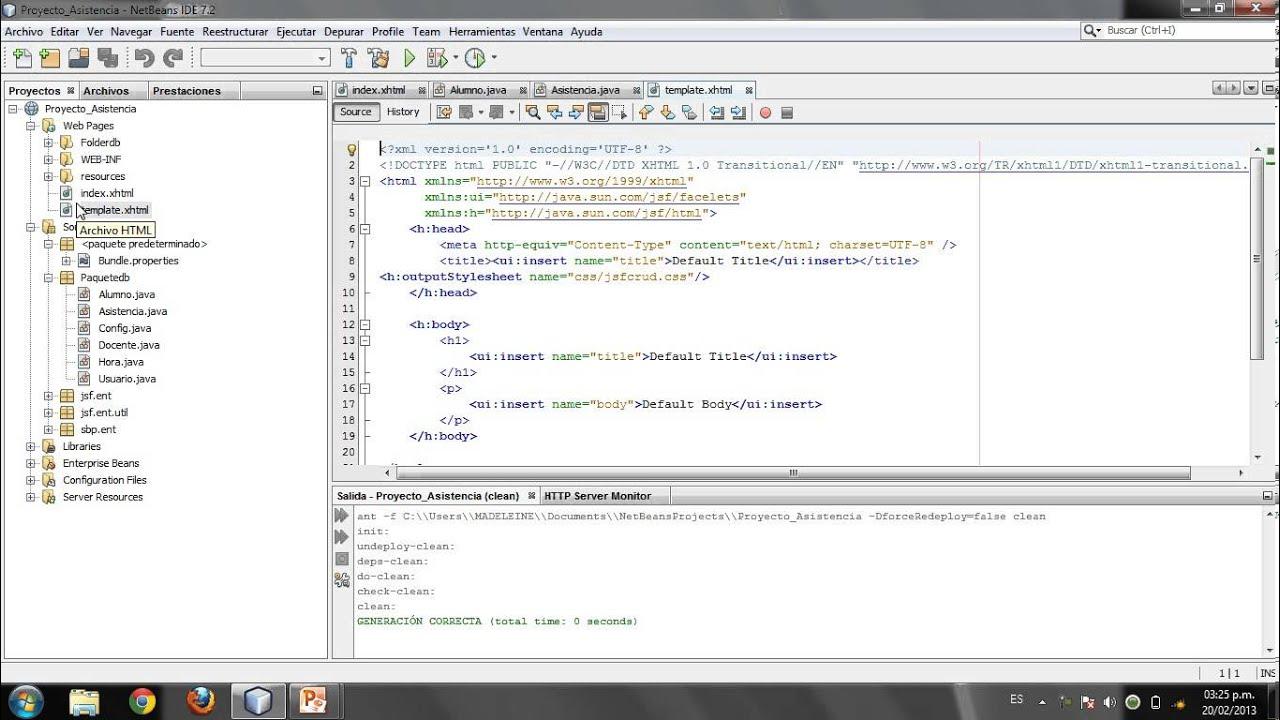 Tutorial Java Server Faces 2.0 usando NetBeans y MySQL