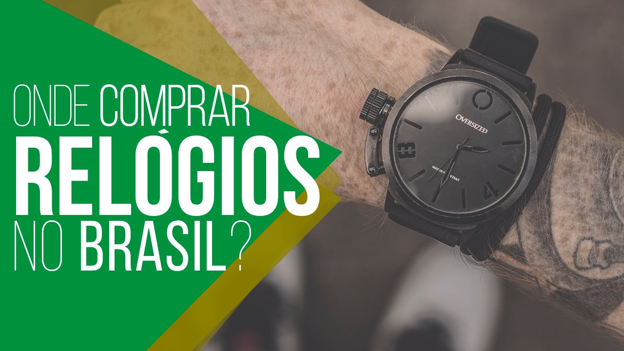 a08e92ed994 LojasNacionais  Onde Comprar RELÓGIOS Masculinos no Brasil  - YouTube