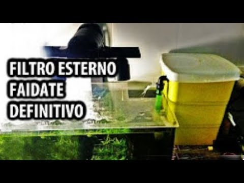 Filtro esterno per acquario fai da te definitivo youtube for Laghetto per anatre fai da te