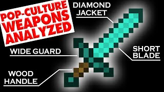 MINECRAFT DIAMOND SWORD analysed and redesigned!