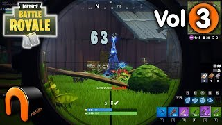 FORTNITE BATTLE ROYAL KILLS! - Nooblets Vol 3