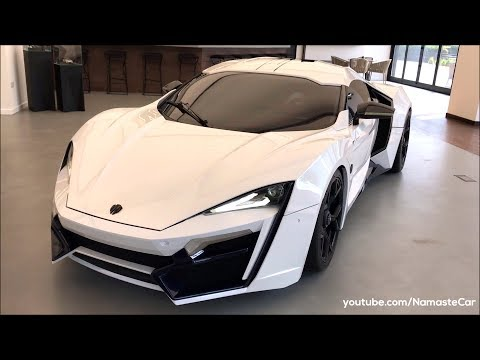 W Motors Lykan HyperSport Prototype/Fenyr SuperSport 2019 | Real-life review