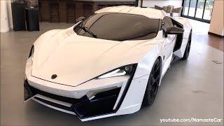 W Motors Lykan HyperSport Prototype/Fenyr SuperSport 2019   Real-life review