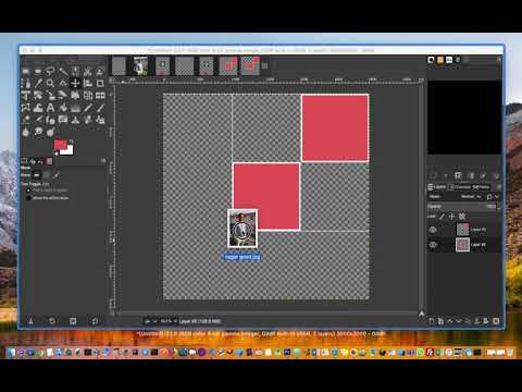 How to make collage in GIMP | Square shaped collage thumbnail