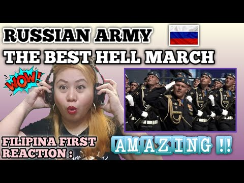 RUSSIAN ARMY - THE BEST HELL MARCH HD || FILIPINA Reacts