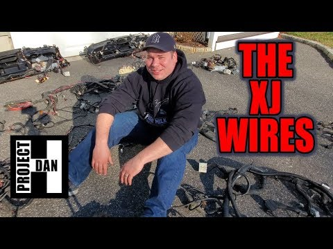 JEEP XJ WIRE HARNESS GUIDE - ALL ABOUT THE WIRES FROM A 97-01 JEEP CHEROKEE XJ