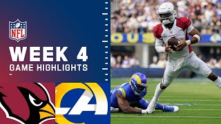 Cardinals vs. Rams Week 4 Highlights | NFL 2021