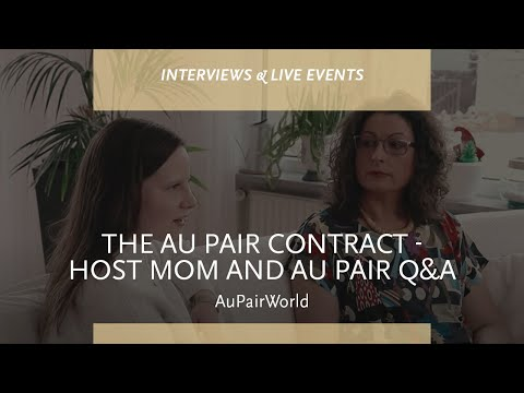 The Au Pair Contract - Host Mom and Au Pair Q & A