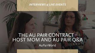 Au Pair Sözleşmesi - Ana Anne ve Au Pair Q & A