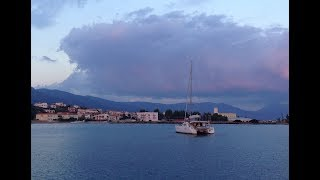 Яхтинг. Греция. Острова. Путешествие на яхте в Эгейском море.