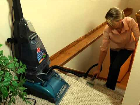Hoover Steamvac Cleaning Upholstery Amp Carpeted Stairs