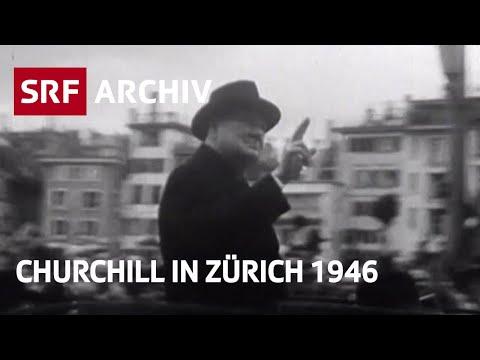 Churchills Europarede in Zürich (1946)