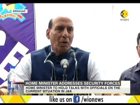 Watch: Home Minister Rajnath Singh briefing Media