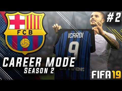 FIFA 19 Barcelona Career Mode EP2 - New Insane Striker Signing!! UEFA Super Cup Final!!