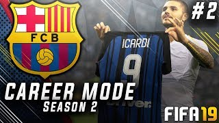 FIFA 19 Barcelona Career Mode EP2 - New Insane Striker Signing!! UEFA Super Cup Final!!